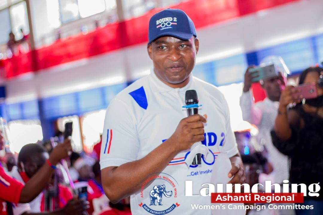 Chairman Wontumi assures Ashanti region more projects in the next NPP Government