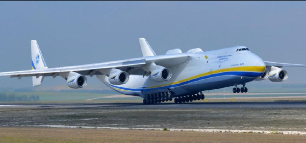 World's Biggest Plane lands In Ghana